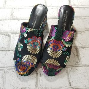 Christian Siriano for Payless Embroidered Mules 8